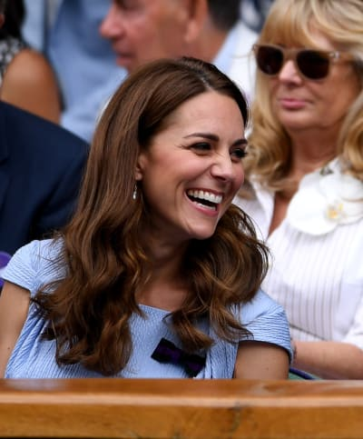 Kate Middleton Guffaws
