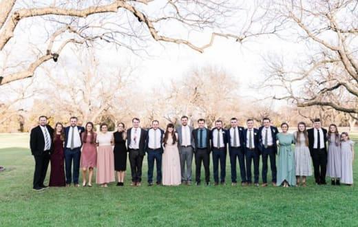 Duggar Family Photo 2021