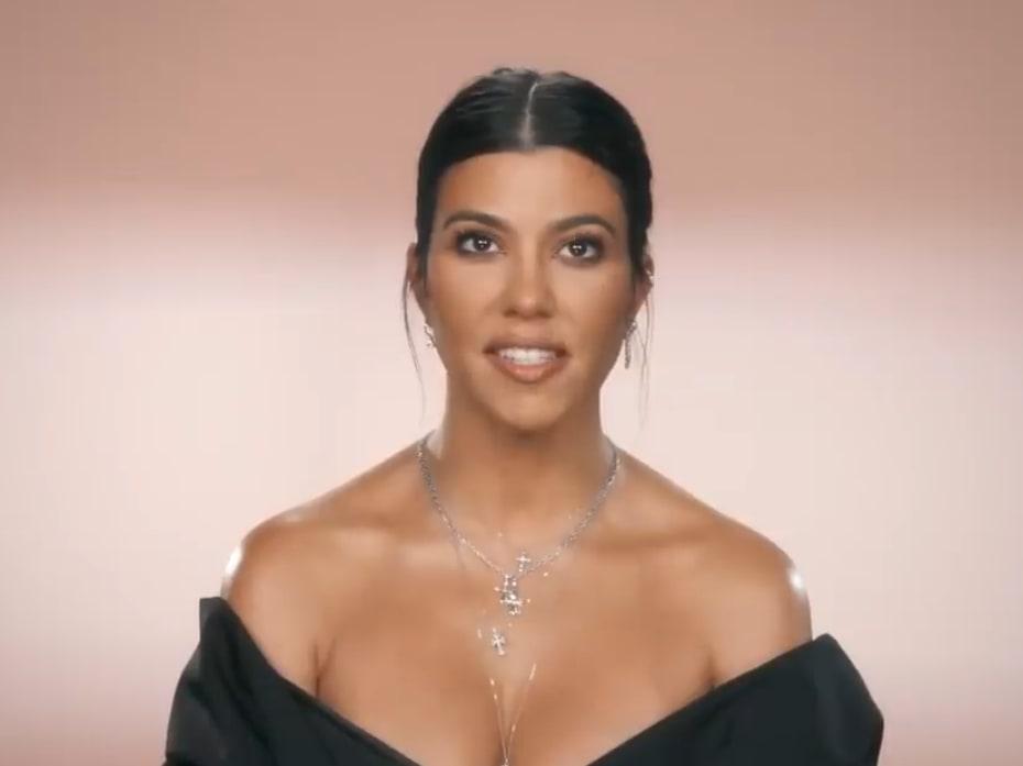 Kourtney Kardashian Turns 40 See Her Familys Touching Tribute Video