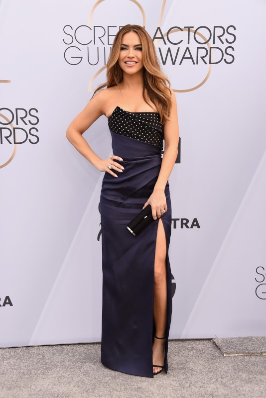 Chrishell stause at the sags