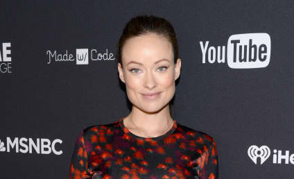 "Olivia Wilde Breastfeeds, Embraces New ""Drinking Buddy"""