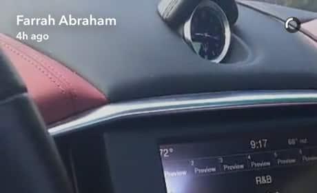 Farrah Abraham New Ring