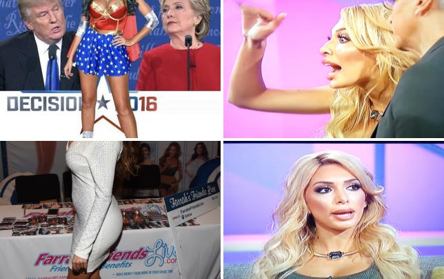 Farrah abraham supports donald trump photo