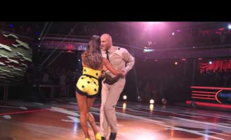 Randy Couture and Karina - Dancing With the Stars Week 2 Performance
