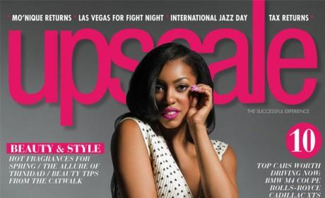 Porsha Williams Upscale Cover