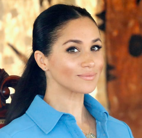 Meghan Markle in a Ponytail