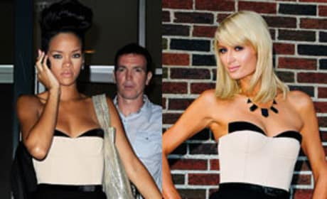 Who wore it better, Rihanna or Paris Hilton?