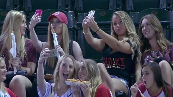 Sorority sisters ask selfie-shamers to support domestic