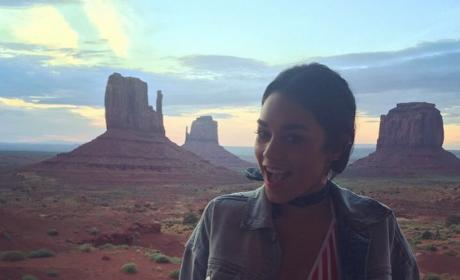 Vanessa Hudgens in Monument Valley