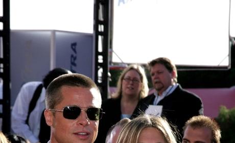 Aniston and Pitt