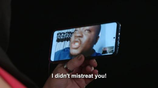 Michael Ilesanmi to Angela Deem - I didn't mistreat you
