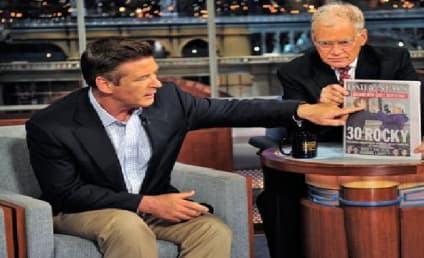 Alec Baldwin Jokes About Reporter Run-In on The Late Show