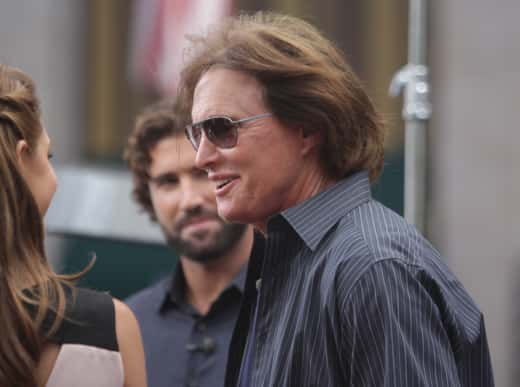 Bruce Jenner with Long Hair
