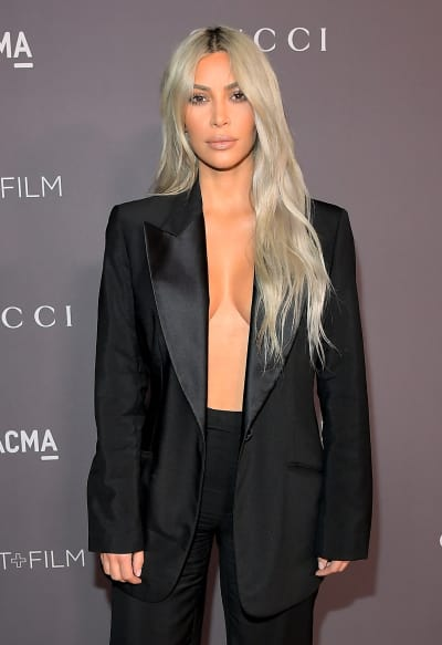 Kim Kardashian: Who Needs a Bra?