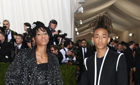 Willow Smith and Jaden Smith: 2016 Costume Institute Gala