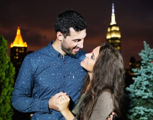 Jinger Duggar Jeremy Vuolo Engagement Photo