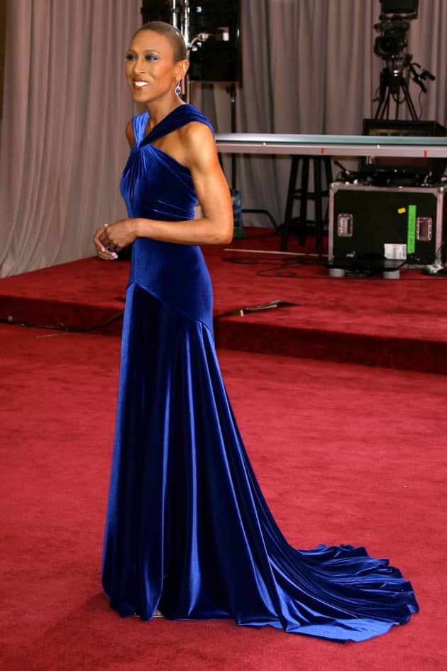 Robin Roberts Oscars Dress