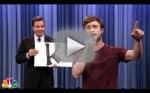 "Daniel Radcliffe Raps ""Alphabet Aerobics"""