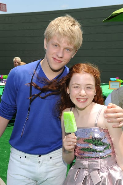 Jackson Odell  and Jordana Beatty