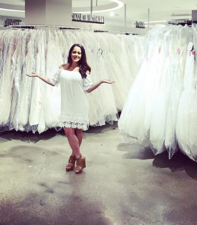 Jenelle Evans Wedding Dress