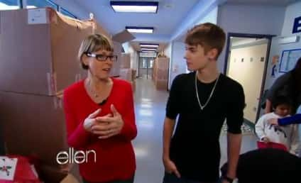 Justin Bieber Visits Special Elementary School, Inspires