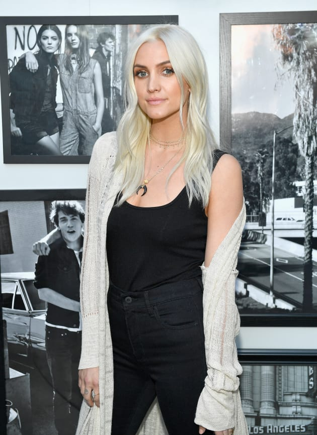 Ashlee Simpson Poses