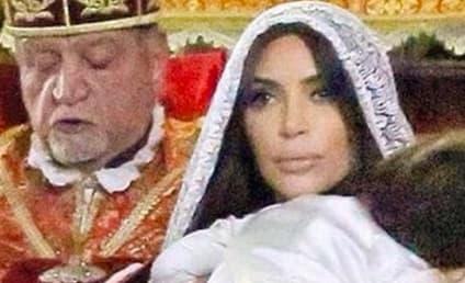 Kim Kardashian Shares North West Baptism Photos