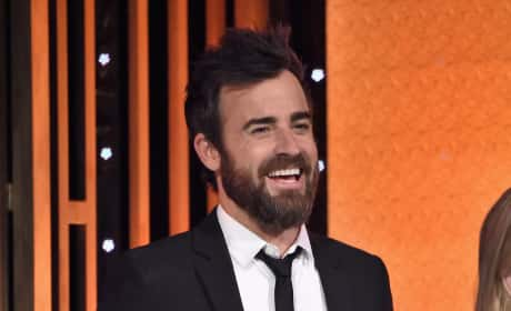 Justin Theroux Laughs