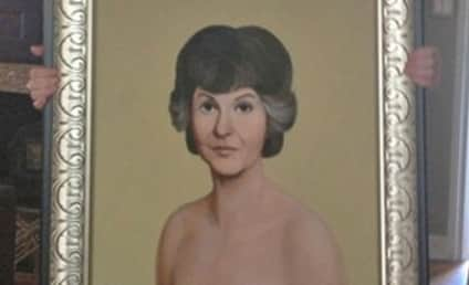 Bea Arthur Nude Painting: Purchased by Jimmy Kimmel?!?