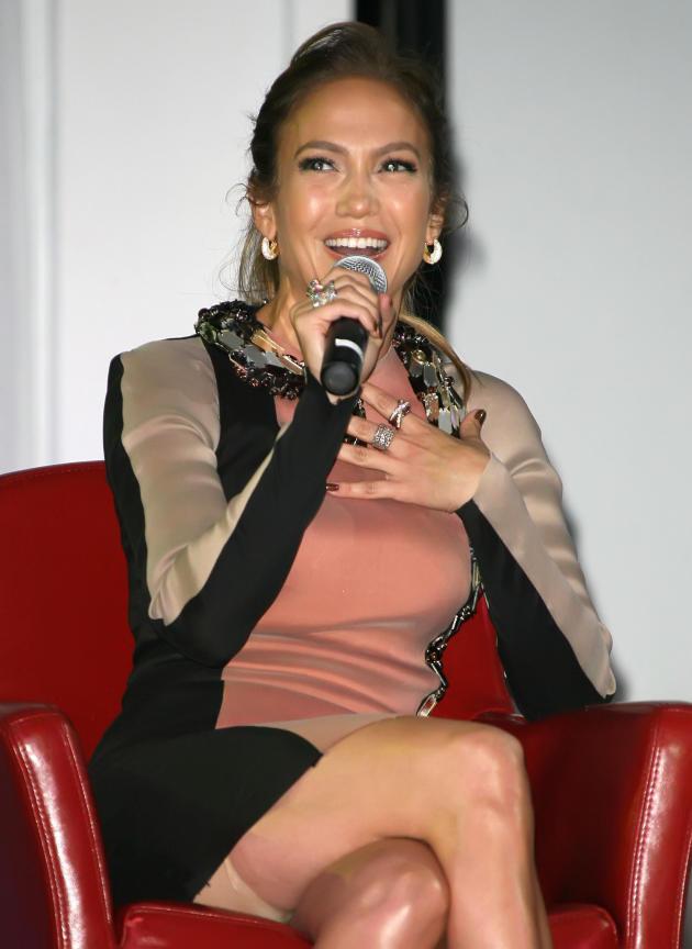 J. Lo Laughing