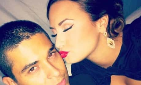 Kiss for Wilmer Valderrama