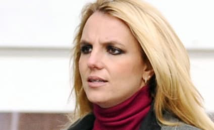 Britney Spears Smokes in Face of Naked Sean Preston