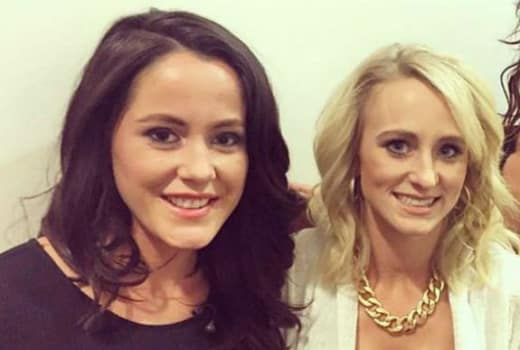 Jenelle Evans and Leah Messer