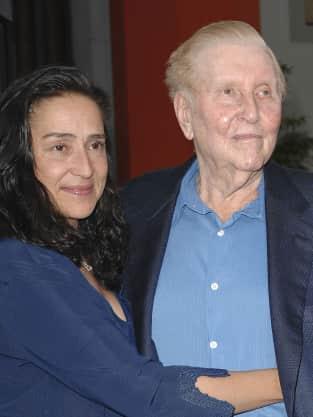 Sumner Redstone And Paula Fortunato Photo