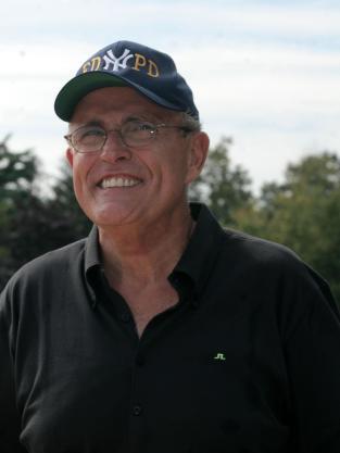 Rudy Guliani Pitches