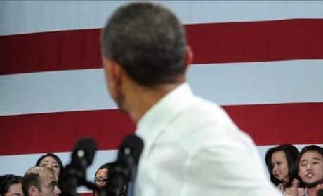 Obama Heckled by Deportation Protester