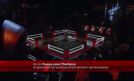 "Tony Vincent vs. Justin Hopkins - ""Faithfully"" (The Voice)"
