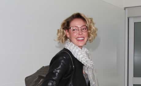 Katherine Heigl Arrives at LAX