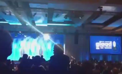 Jennifer Lawrence Presents at GLAAD Media Awards, Botches Bill Clinton's Name