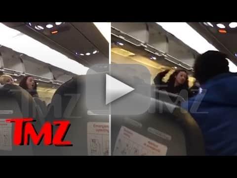 Danielle bregoli flips the eff out on airline passenger