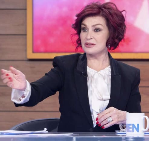 Sharon Osbourne as The Talk Host