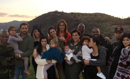 """Kardashians and Jenners Celebrate Thanksgiving as One, Giant """"Blended Family"""""""