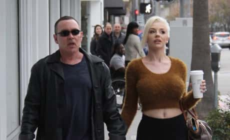 Courtney Stodden and Dough Hutchison in Beverly Hills