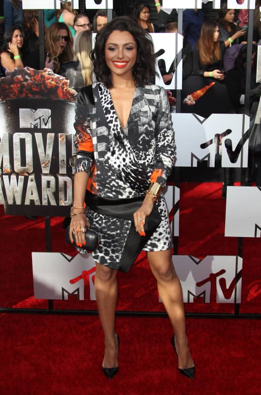 Kat Graham at 2014 MTV Movie Awards