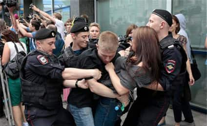 Gay Pride Fines to Be Assessed in Russia After Bill Passes 436-0