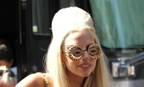 What's Lady Gaga's best look: Hair skirt or hair dress?