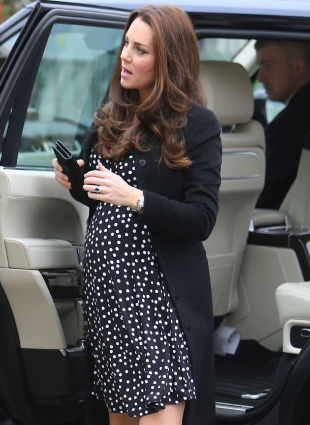 Kate Middleton Polkadot Dress The Hollywood Gossip