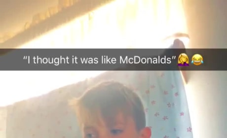 Mother Apologizes After Her Young Son Wears Lewd McDonald's Parody Shirt to School
