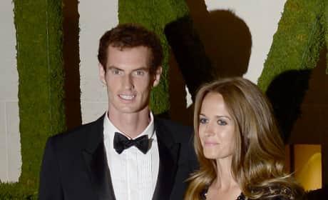 Kim Sears and Andy Murray