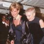 Princess Diana Attends 1995 Met Costume Institute Ball